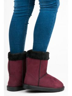 Dámske bordové snehule Bearpaw Boots, Ugg Boots, Uggs, Winter, Shoes, Fashion, Winter Time, Moda, Zapatos
