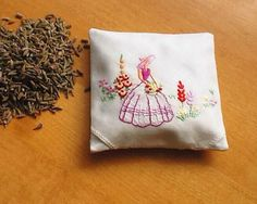 Lavender+Bag+Lavender+Sachet+Lavender+Natural+by+MadAboutHankies,+£6.25