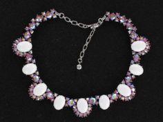 Fantastic Trifari Pink Rhinestones Collar Necklace NK1064 | eBay
