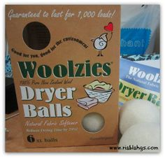 Review - Woolzies, The Natural Fabric Softener | It's My Party