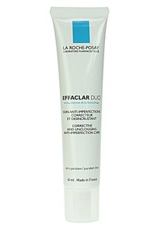 La-Roche Posay Effaclar Duo - spot cream/ moisturiser recommended by Tanya Burr