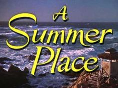 The theme from the movie #ASummerPlace was the number one song of 1960 and is playing at the party the Tylers give.  The movie is one of the many she would have missed. #PercyFaith