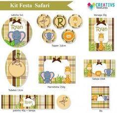 Kit festa Safari mod:873
