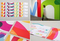 9 exemplos de identidades visuais criativas. #Inspiração (via Design'on)