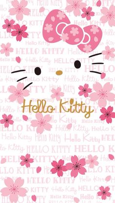 Birthday Background Wallpapers Pink Hello Kitty 64 Ideas For 2019 Hello Kitty Themes, Pink Hello Kitty, Hello Kitty Birthday, Sanrio Hello Kitty, Hello Kitty Iphone Wallpaper, Hello Kitty Backgrounds, Sanrio Wallpaper, Hello Kitty Pictures, Kitty Images