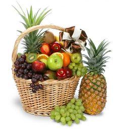 También una #canasta de frutas es un excelente regalo gourmet.