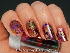 Wacky Laki:   #nail #nails #nailart