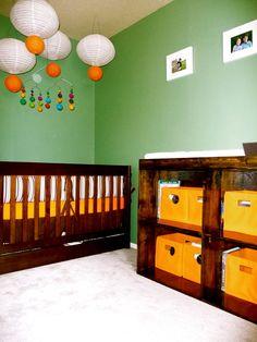 colorful boy room