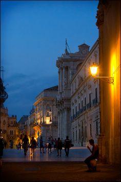 Piazza Duomo - Siracusa - Sicily, Italy