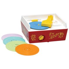Fisher Price Music Box Record Player | I don't remember if I had one myself, but I definitely remember this!
