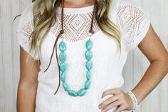 Cary Turquoise Necklace – Rural Haze