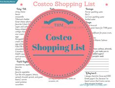 I'm at Costco far more than I'd like, so I thought maybe that happens to you, too, and you'd like some tips on what to buy there, and a printable list to save you some time. Of course, I mainly don...