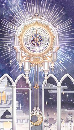 Image in Hell Event Evernight album Art And Illustration, Fantasy Kunst, Fantasy Art, Anime Places, Anime Kunst, Disney Wallpaper, Pretty Art, Aesthetic Art, Fantasy World