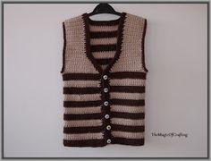 Free crochet patterns and DIY, crochet charts: Easy Toddler Vest Crochet Toddler, Crochet For Kids, Easy Crochet, Crochet Baby, Free Crochet, Crochet Vest Pattern, Crochet Chart, Free Pattern, Crochet Patterns