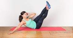 A strong stomach doesn't require any complicated equipment. Get back to basics with these easy yet effective moves for a strong, tight core.
