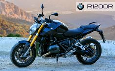Black BMW R1200R 2015 Wallpaper