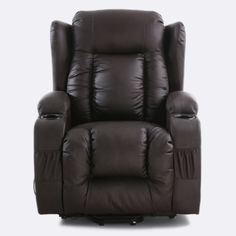 the buckingham riser recliner brown is a noble chair worthy of its