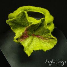 Felt Jewellery – Flower Dread – a unique product by Jaghajaga on DaWanda