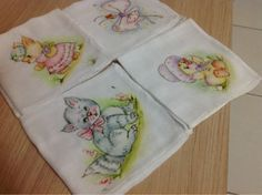 fraldas pintadas para bebe coelha - Pesquisa Google
