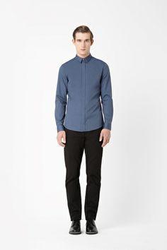 Slim-fit oxford shirt