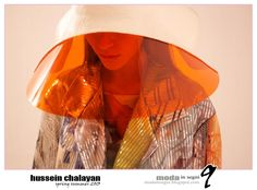 hussein chalayan 2013 -  Pinned by www.fashion.net Hussein Chalayan, Headgear, Futuristic, Spring Summer, Photo And Video, Instagram, Glasses, Videos, Photos