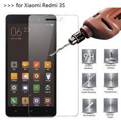 For Xiaomi Redmi 3 Tempered Glass Screen Protector For Xiaomi Redmi 3 3S 3X 3 Pro 3 prime Mobile Phone Protective Film case
