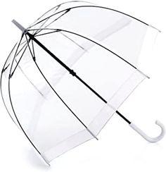 Fulton - 26.99 - 4.4 von 5 Sternen - Top Regenschirme 2019 White Trim, Black And White, Fulton, Umbrellas, See Through, Black N White, Black White