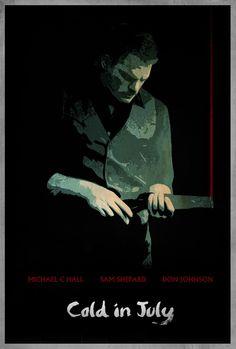 Une affiche teaser pour Cold in July de Jim Mickle