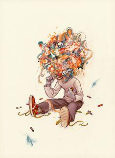 Crayon Eater - James Jean