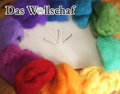 Starterset Trockenfilzen - Bastelpackungen - Das Wollschaf (natürlich & kreativ)
