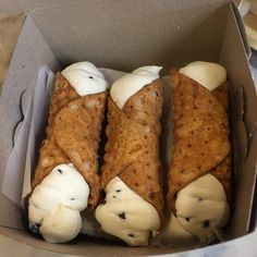 Because Little Italy is a tourist trap, these are the 9 absolute best cannolis in New York City. www.GeorgeRosario.com