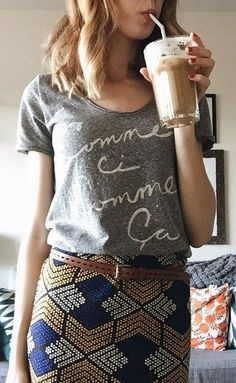 i need cute t-shirts... that can go with yoga pants or a floral skirt... that would be very functional