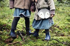 Wollwichteljacken + Cordkleider handmade in Berlin via alovelyjourney.de #petitcochon #kleinewölkchen