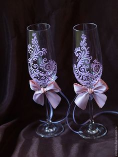 special Champagne glasses