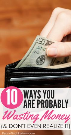 10 Ways You Are Wasting Money - Learn How to Budge…