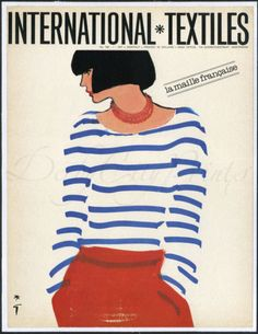 Rene Gruau 1979    via http://theblitzkids.tumblr.com/post/21592670291/rene-gruau-cover-for-international-textiles