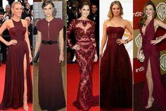 Pantone Marsala 2015 Color - Red Carpet http://www.justlia.com.br/2014/12/marsala-e-a-cor-de-2015/