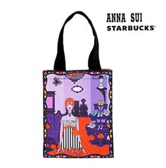 Starbucks Collaboration Alice Olivia Crystal Tote Bag