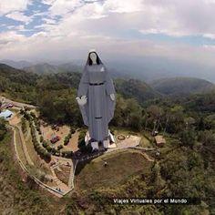 Viajes Virtuales por el Mundo: Monumento a la Virgen de la Paz