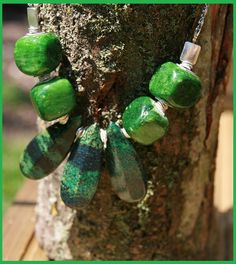 Green with envy. Beautiful One, Envy, Drop Earrings, Christmas Ornaments, Holiday Decor, Green, Gifts, Jewelry, Xmas Ornaments
