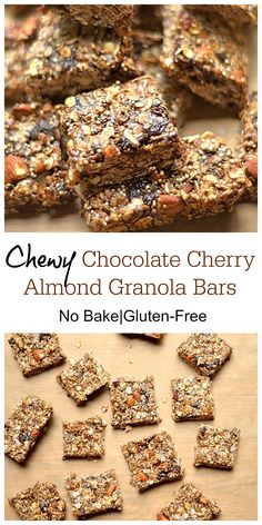 about Granola, Energy Bars & Bites on Pinterest | Granola, Granola ...