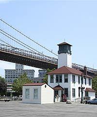 Ice cream house in Brooklyn, NY
