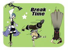 KH BBS : Break Time! by AeroxVentusxYuni on deviantART