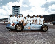 1960 Indy 500 Winner, Jim Rathmann, the Day after the Race
