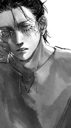 Eren E Levi, Attack On Titan Eren, Attack On Titan Fanart, Fanarts Anime, Manga Anime, Anime Art, Aot Characters, Boku No Hero Academy, Animes Wallpapers