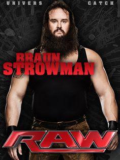 Braun Strowman Real Name: Adam Scherr Weight: Watch Wrestling, Wrestling Wwe, Erick Rowan, The Wyatt Family, Bray Wyatt, Braun Strowman, Professional Wrestling, Wwe Superstars, 4 Life