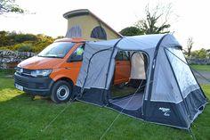 Image result for camper van rear door tent