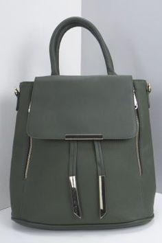Laila Metal Detail Structured Day Bag at boohoo.com