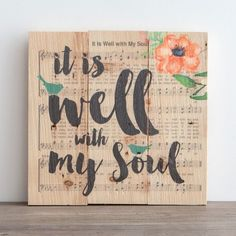 It is well with my soul... wall art from DaySpring!