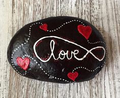 This beautiful rock was pain stakingly and carefully hand painted using free form dotted art techniques. These can be practically used as a paper weight,